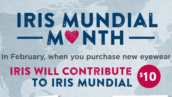 February is the IRIS Mundial month