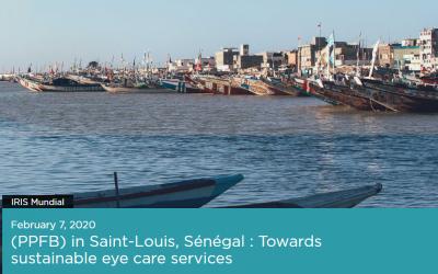 PPFB St-Louis, Senegal: towards sustainable eye care services