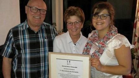 Félicitations à Mme Johanne de Champlain